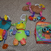 игрушки новорожденному Lamaze Англия