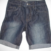 Фирменные Denim крутые шорты мальчику 6-7 лет в новом состоянии
