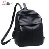 Рюкзак с искусственной кожи, черный, новая