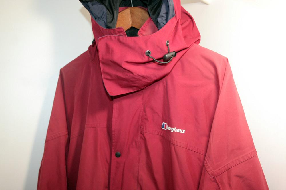 9f584489117 Мужская куртка на мембране berghaus бергаус оригинал хлрр красная идеа фото  №1