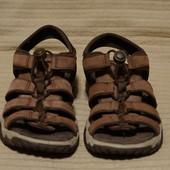Комфортные кожаные трекинговые босоножки цвета какао Rohan Англия 41 р