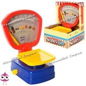 Детские игрушечные весы 3302A, стрелка двигается в зависимости от веса