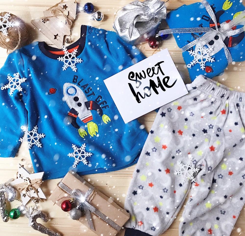 Пижама primark флисовая теплая пижамка фото №1