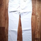 Мужские белые брюки спецодежда размер М,  19-120 Ю