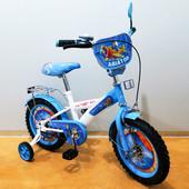 Велосипед Tilly Авіатор 14 T-214210 white + blue