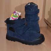 Ботинки р.29 (стелька 18 см) Демисезонные Новые Прорезиненный носок