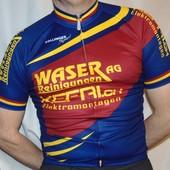 Фирменная спортивная вело футболка бренд Zolinger.xs-s -m.унисекс .