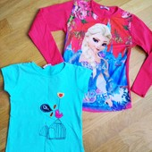 Реглан и футболка для девочки 122-134 см
