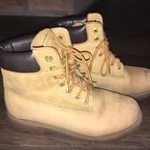 Срочно продам мужские ботинки Timberland 7,5 (41)26,7 см