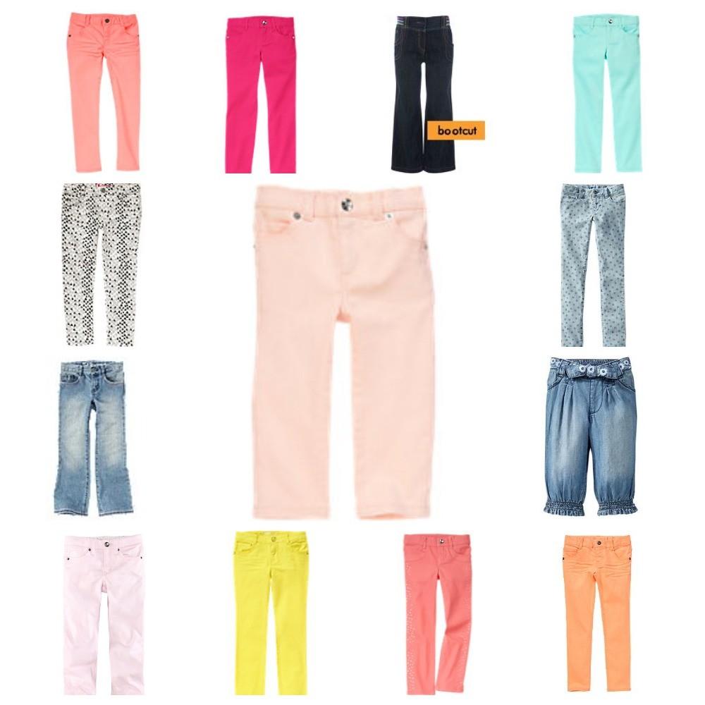 Джинсы, брюки gymboree, old navy, crazy8, h&m на девочек от 2-х до 8 лет в наличии фото №1