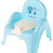 Горшок-кресло Tega с спинкой