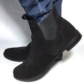 Женские замшевые ботиночки, в наличии