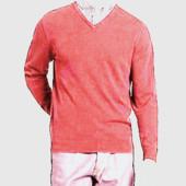 46-48р. Розовый джемпер-кофта, хлопок и шёлк  M&S