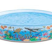 Бассейн каркасный детский Коралловый риф 58472