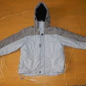 р. 140-146-152 лыжная куртка сноуборд Review, Германия, теплая зимняя куртка, термокуртка