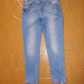 L-2XL, поб 50-54 узкачи! рваные и потертые джинсы скинни Promod