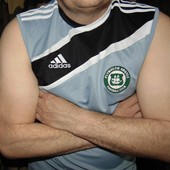 Спортивная оригинал майка футбольная Adidas .л.
