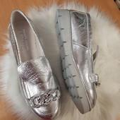 Туфли лоферы Натуральная кожа Люкс