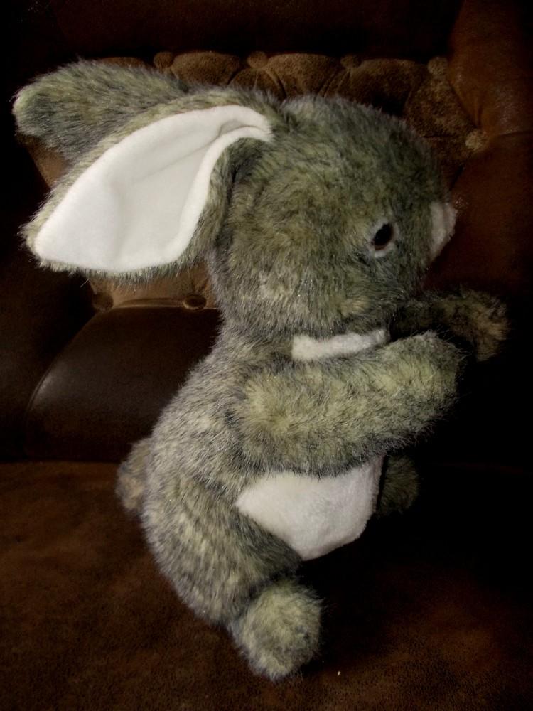 Большая мягкая игрушка Кролик/заяц высота 50см фото №1