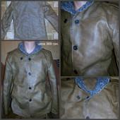 Куртка теплая кожзам. новая. Все очень качественно!