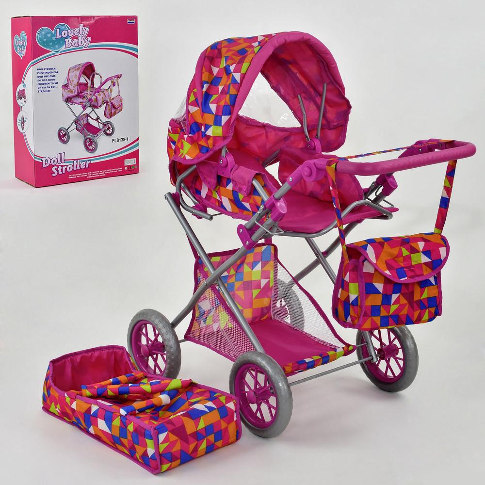 Lovely baby fl 8139 коляска для кукол люлька кукольная фото №1