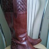 Vero Cuoio 37,5 p. Итальянские кожаные сапоги