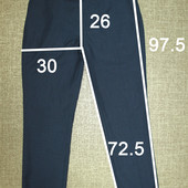 брюки мужские р 34S, замеры на фото
