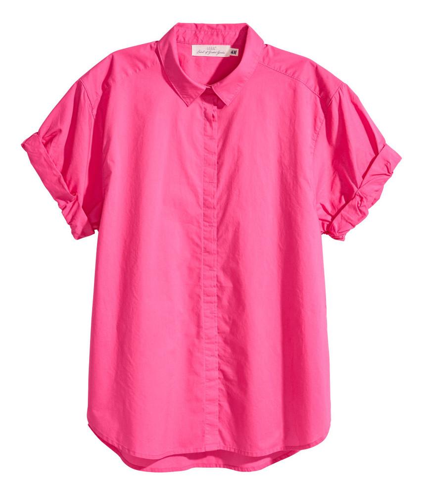 Рубашка летняя женская h&m 34-40р фото №1