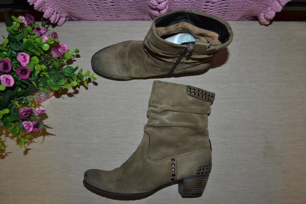 Р. 37,5 - 24,5 см. kennel & schmenger. ботинки деми, полусапожки. фирменные, оригинал. фото №1