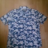 Фирменная легкая рубашка XL