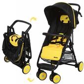 Детская прогулочная коляска-книжка el camino motion M 3295 (4 цвета)