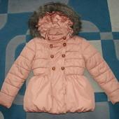 деми куртка I love next 7-8 лет сразу после зимней одежды.