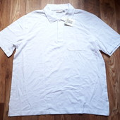 Белая футболка-поло размер XL, 20-45 Ю