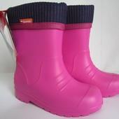 Резиновые сапоги Demar  DINO f (розовые) 24-35 р