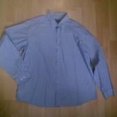 Фирменная хлопковая рубашка XXL