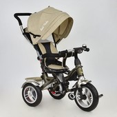 Велосипед трехколесный с поворотным сиденьем Best Trike 5688 Лен (надувные колеса)