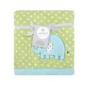 Детское теплое одеяло для Carters слоник