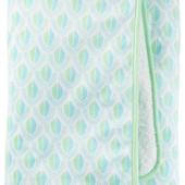 Детское теплое одеяло для мальчика Carters Зеленый Гео