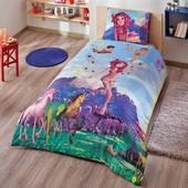 Миа Mia and me fairy на резинке ранфорс постельное белье TАС Disney
