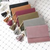 Стильный женский кошелек, 2 цвета, новый
