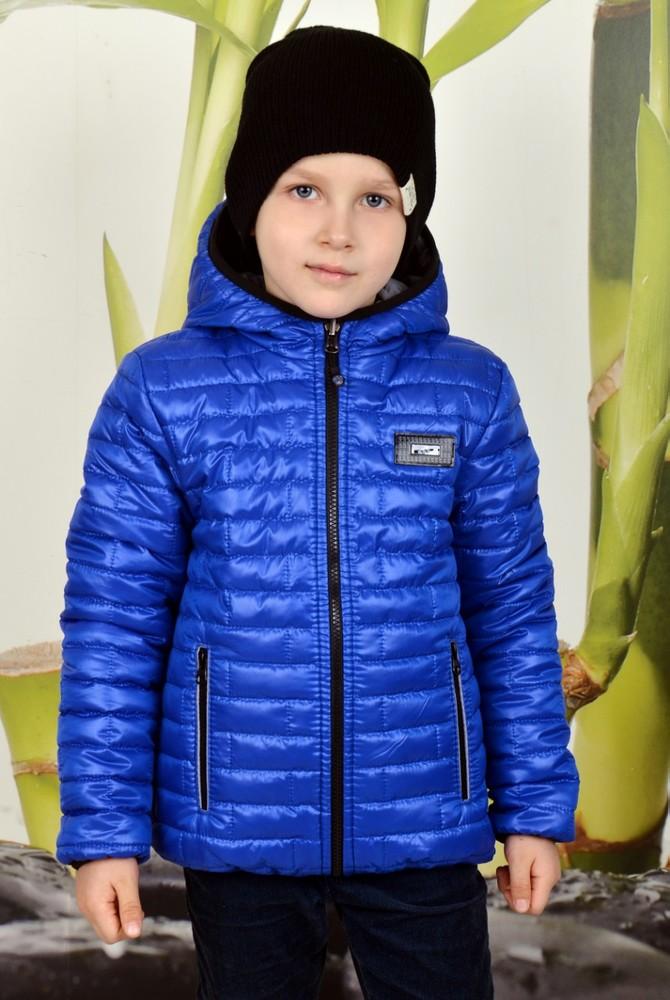 Демисезонная двухсторонняя курточка на мальчика фото №1
