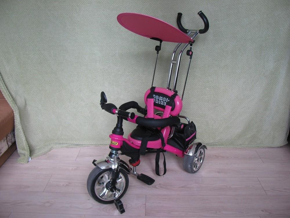 Велосипед combi trike tilly bt-ct-0012 фото №1