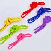 Скакалка для художественной гимнастики 7096: длина 3м, диаметр 9мм (6 цветов)