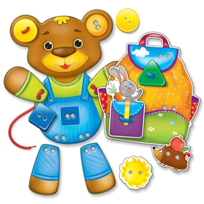 Гудзики-шнурочки детская игрушка фото №2