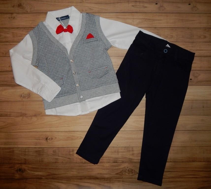Класні костюмчики для хлопчика містер 3-8 р фото №1
