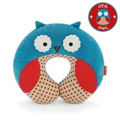 Skip Hop Дорожная подушка-подголовник сова совушка zoo owl neckrest travel