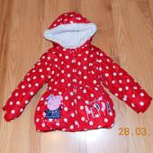 Демисезонная куртка George для девочки 2-3 года. 92-98 см