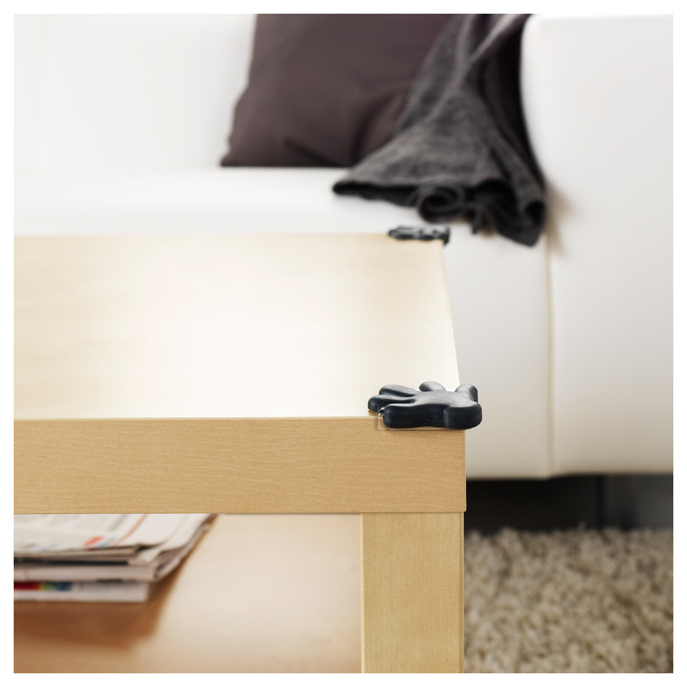 Угловая защита на мебель, детская защита, черный 901.304.17 patrull, патруль икеа ikea в наличии фото №1