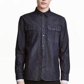 Джинсовая рубашка, H&M, S
