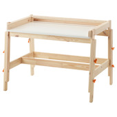 Детский письменный стол, регулируемая высота 202.735.94 Flisat, Флисат Икеа Ikea В наличии